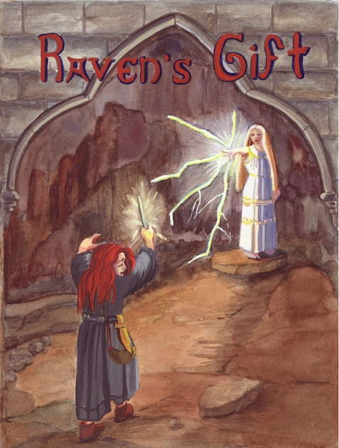 Front Cover, Raven's Gift